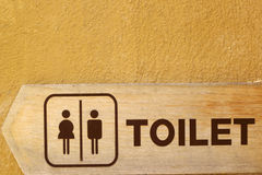 Symboliseer toiletten royalty-vrije stock fotografie