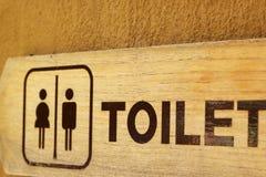 Symbolisera toaletter Royaltyfri Foto