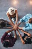 Symbolisierung von Einheit und von Teamwork Lizenzfreie Stockfotografie