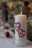 Symboliska bröllopdetaljer Royaltyfri Fotografi