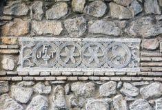 Symboliska detaljer av gatorna av Toledo Royaltyfri Foto