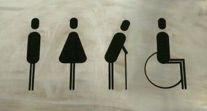 Symbolize. Badge symbolize the bathroom,the indicator stock image