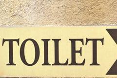 Symbolize toilets Stock Photos