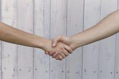 Symbolizing hands Royalty Free Stock Photo