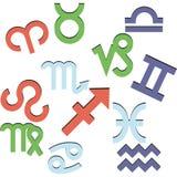 symbolizmu zodiak Zdjęcia Stock