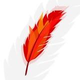 Symbolnaturen visar fåglar i flykten och flora Royaltyfria Bilder