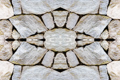 Symbology in the background of stones Stock Image