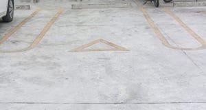 Symbolparkering Royaltyfri Bild