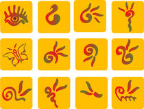 Symbols. Set of vector symbols for design Royalty Free Stock Photo