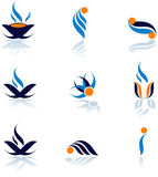 Symbols. Set of vector symbols for design Royalty Free Stock Photography