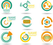 Symbols. Set of vector symbols for design.See a lot of high-quality vector logo in my portfolio Stock Photography
