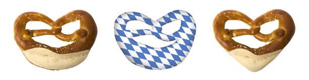 Symbols for the Bavarian Oktoberfest Royalty Free Stock Photo