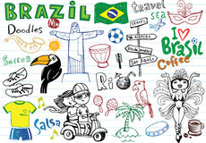 Symbols of Brazil, Stock Photography