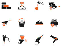 Symbols of building equipment Royalty Free Stock Photography
