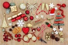 Symbols of Christmas Royalty Free Stock Photo