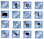 Symbols collection Royalty Free Stock Photo