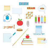 Symbols of education Stock Photos