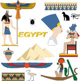 Symbols of Egypt Stock Image