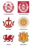 Symbols and emblems  Stock Images