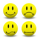 Symbols emotions Stock Photos