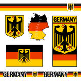 Symbols of Germany Royalty Free Stock Photos