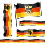 Symbols of Germany Stock Photography