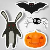 Symbols of Halloween Stock Photos