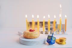Jewish holiday Hanukkah Royalty Free Stock Photography