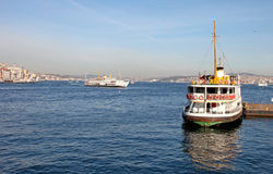 Symbols of Istanbul Royalty Free Stock Images