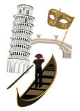 Symbols of Italy Royalty Free Stock Image