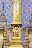 Symbols of the king of Thailand in wat phra kaew Royalty Free Stock Images