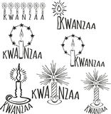 Symbols of Kwanzaa Stock Images