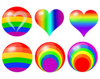 symbols of the LGBT Stock Photography