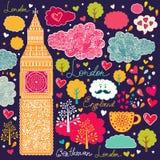 Symbols of London Stock Image
