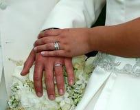 Symbols of Love. Wedding Rings Royalty Free Stock Photo