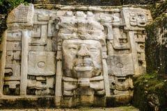 Symbols of Maya. Maya archtitecture and the symbols of Maya Stock Photography