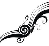 Symbols of music Stock Photography