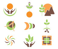 Symbols of nature Royalty Free Stock Photography