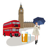 Symbols Of London Royalty Free Stock Photo