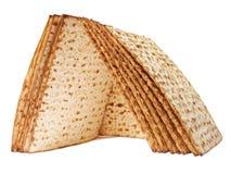 Symbols of Passover. Unleavened bread Stock Photo