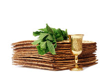 Symbols of Passover Stock Images