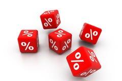 Symbols of percent Royalty Free Stock Image