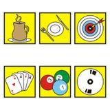 Symbols-restaurant Stock Photography