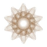 Flower 3d geometry of nature. Symbols of sacred geometry, depict fundamental aspects of space and time.Flower of life symbol variations Royalty Free Stock Photography