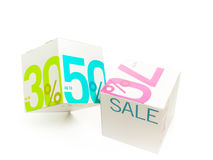 Symbols of sale Stock Images