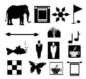 Symbols set Stock Images