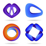 Symbols set, volume,   Stock Photo