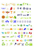 Symbols & signs collection - vector Royalty Free Stock Photos
