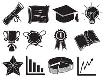 Symbols and signs of success Royalty Free Stock Images