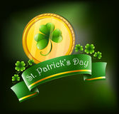 Symbols for St. Patrick's celebration Royalty Free Stock Photos